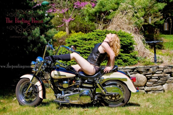 Sexy Harley Davidson Images from The Pouting Room